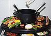 Raclette, Fondue und Grill in einem